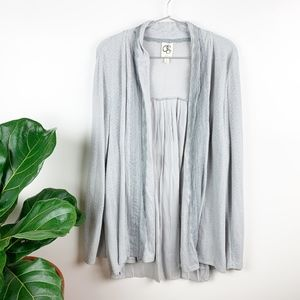 Anthropologie One September Perth Open Cardigan L